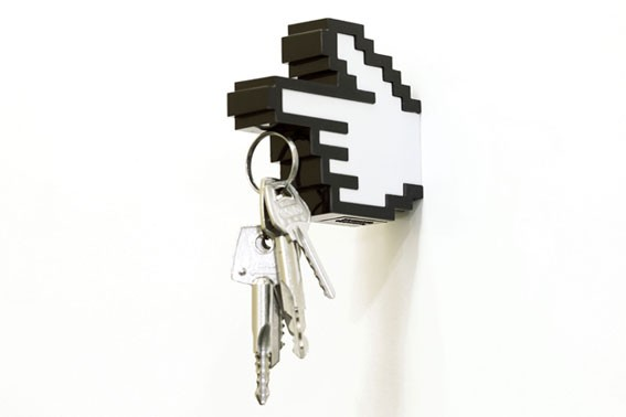 8 Bit Hanger and Key Holder