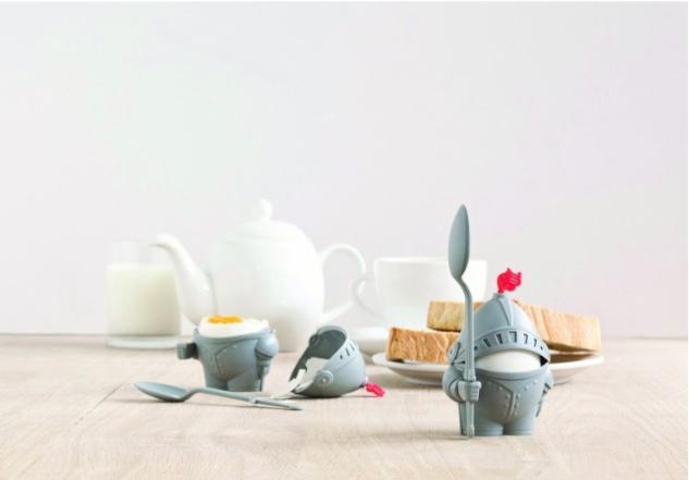 Arthur Boiled Egg Cup Holder with Eating Spoon