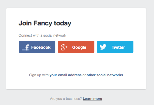 Join Fancy