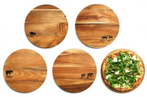 Wooden Pizza Boards by Olze & Wilkens