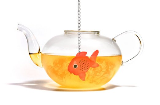 Gold Fish Tea Infuser