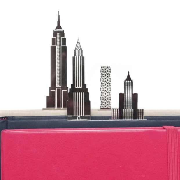 New York Skyline Bookmarks