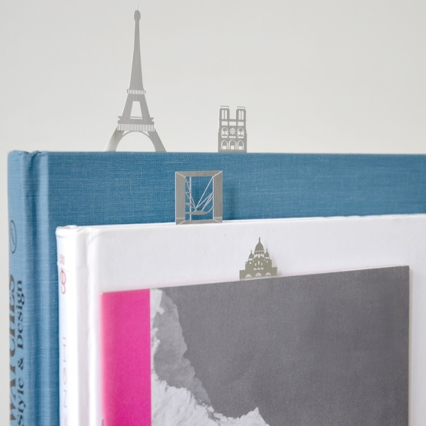 Paris Skyline Bookmarks