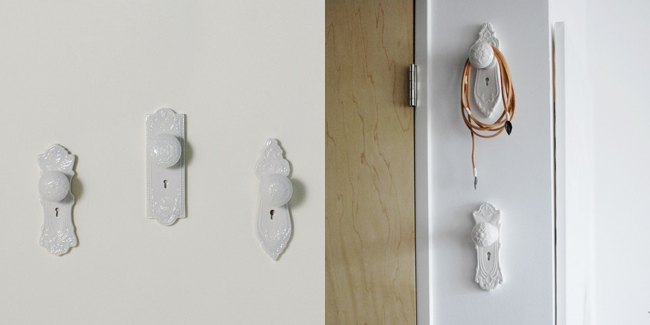10 cool creative wall hook designs for Cool wall hook ideas