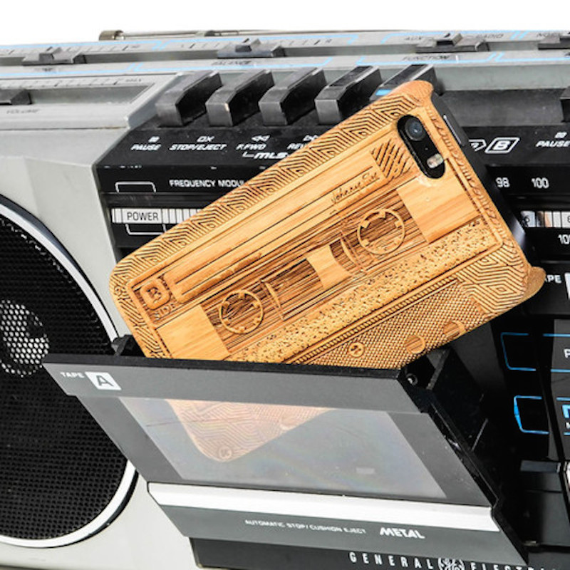 B-Side-Cassette-Bamboo-iPhone-55s-Case-by-Johnny-Fly