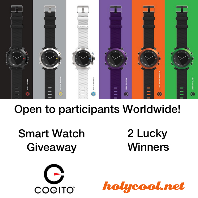 COGITO Smart Watch Giveaway