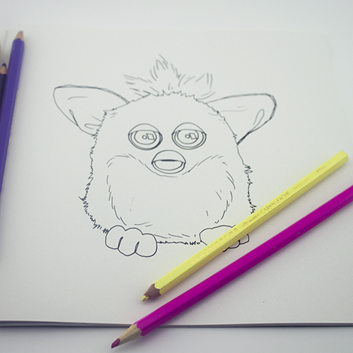 Colour Me Good 90s_Furby