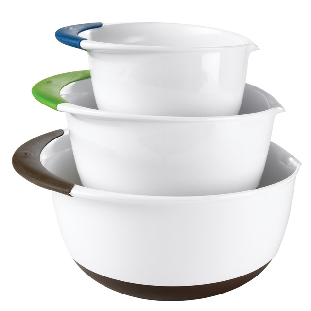 OXO Good Grips Mixing Bowl Set with Handles