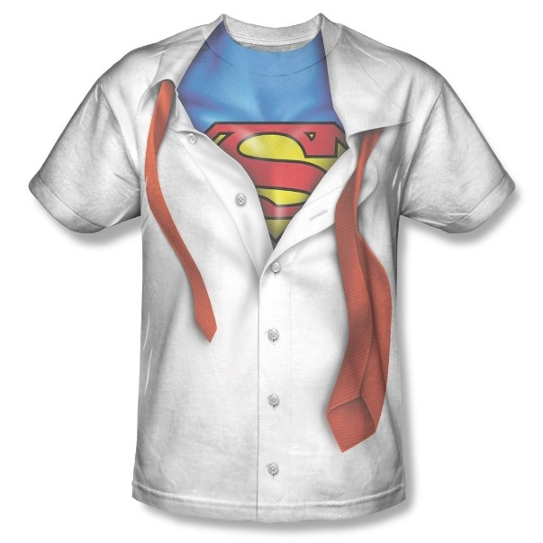 Superman Men's I Am Sublimation Print Polyester