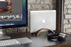 Twelve-South-Bookarc-Mod-Vertical-Stand-For-Macbook-Walnut