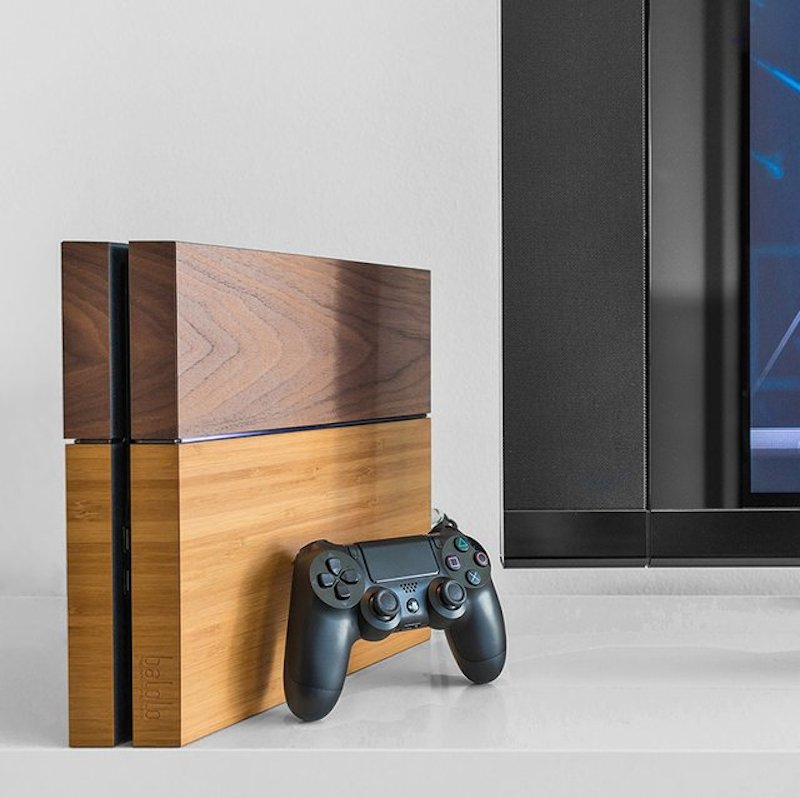 Wooden-Cover-PlayStation-4