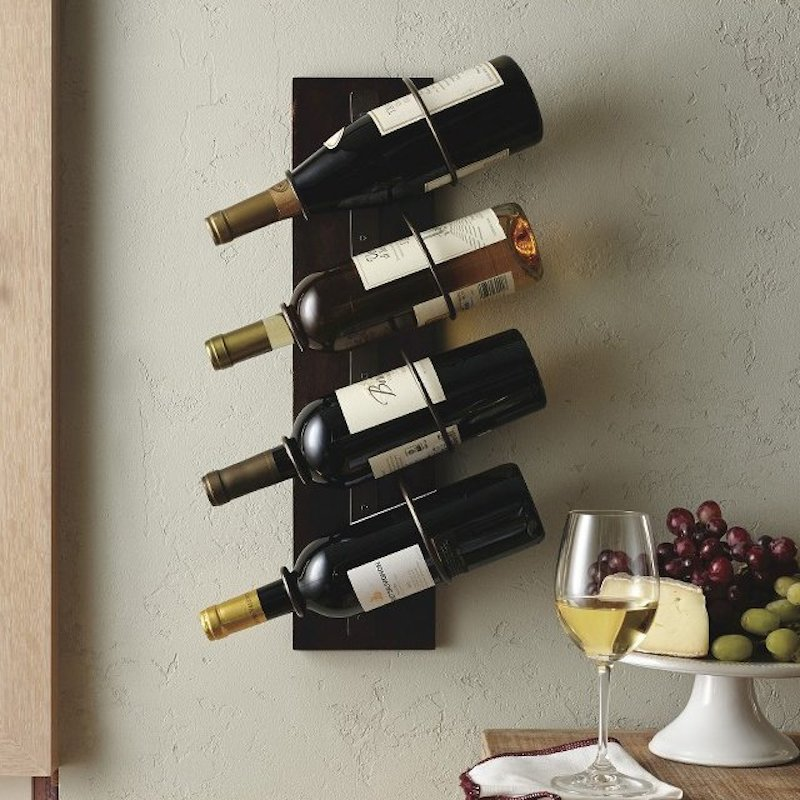 4-Bottle-Wall-Mount-Wine-Holder
