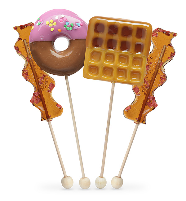 Breakfast Lollipop Set