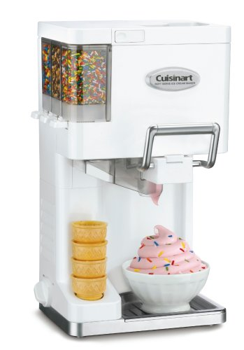 Cuisinart ICE-45 Mix It In Soft Serve 1-1_2-Quart Ice Cream Maker
