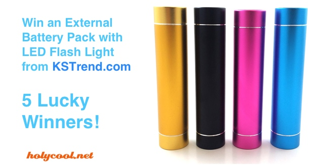 External Battery Pack Giveaway