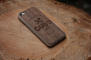 Give-your-iPhones-the-perfect-character-cutting-of-walnut-wood-using-this-CARVD-Wooden-iPhone-Skin.