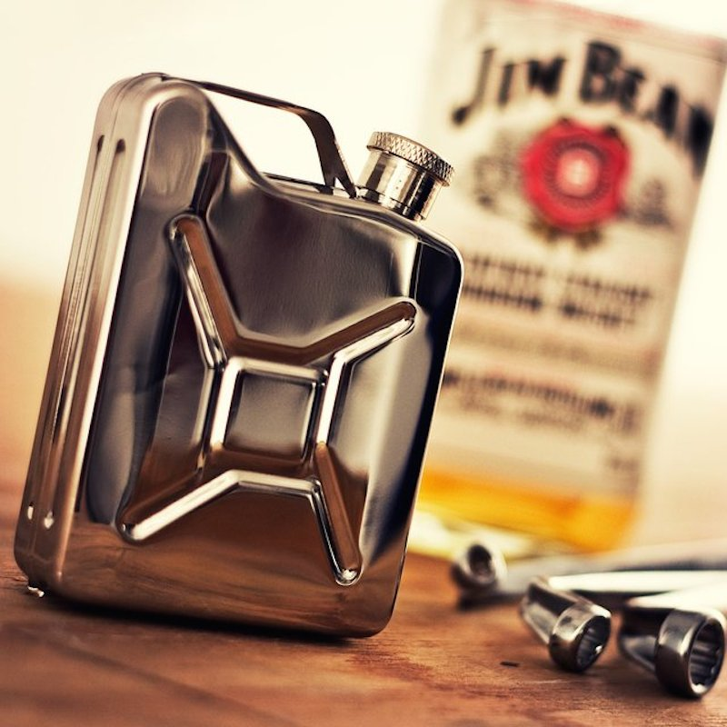 Jerry-Can-Stainless-Steel-Hip-Flask