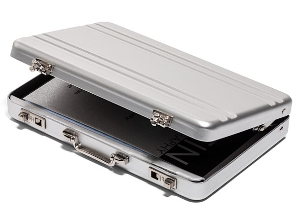 Mini Briefcase Business Card Case Holycool