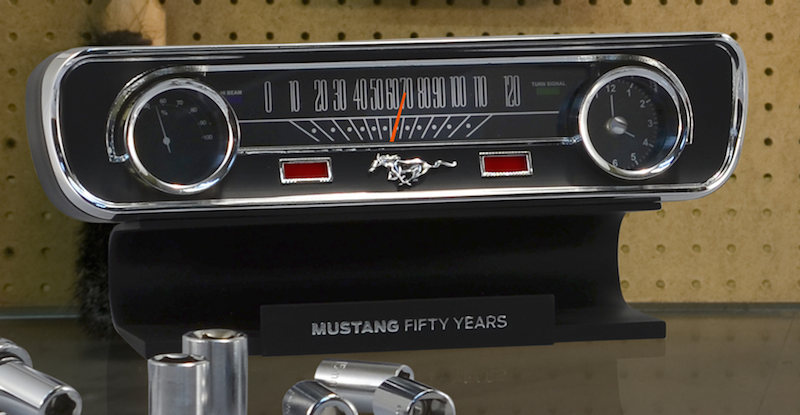 Mustang-50th-Anniversary-Desktop-Sound-Clock-Thermometer