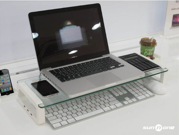 Unique U BOARD SMART Monitor Stand and Multi function Board with built in