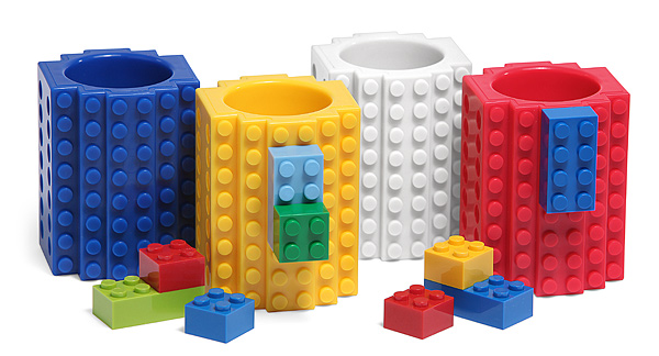 Build-On Brick Shot Glass
