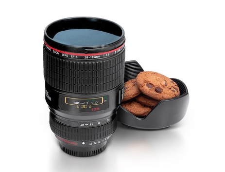 Camera Lens Drinks Cup