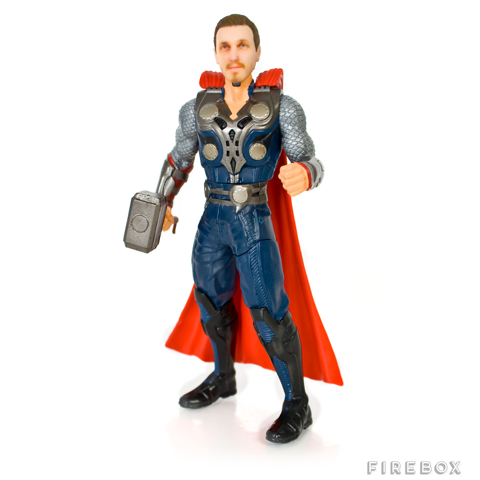 Personalised Superhero Action Figures_
