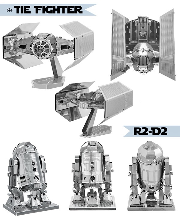 Star Wars 3D Metal Model Kits