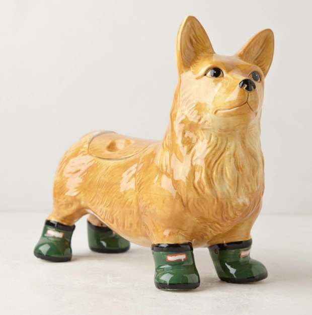 Corgi Cookie Jar
