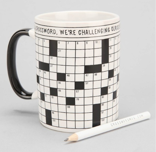 Crossword Puzzle Mug_