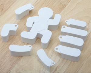 Jay Disco Biscuits Posable Cookie Cutter