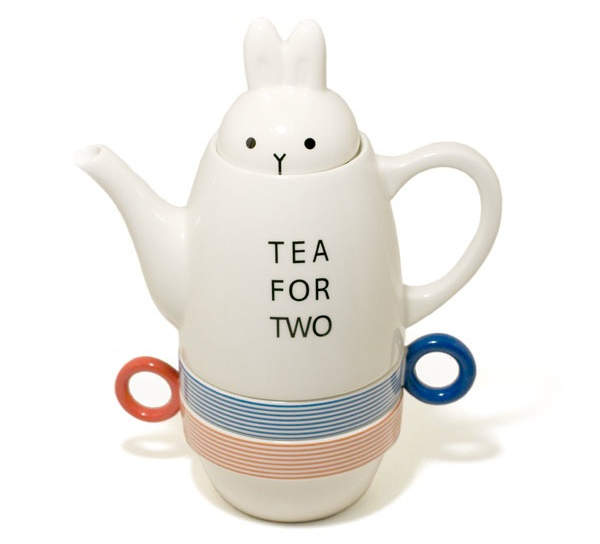 Rabbit Tea Pot Set