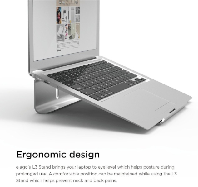 elago L3 Aluminum STAND for Laptop Computer_