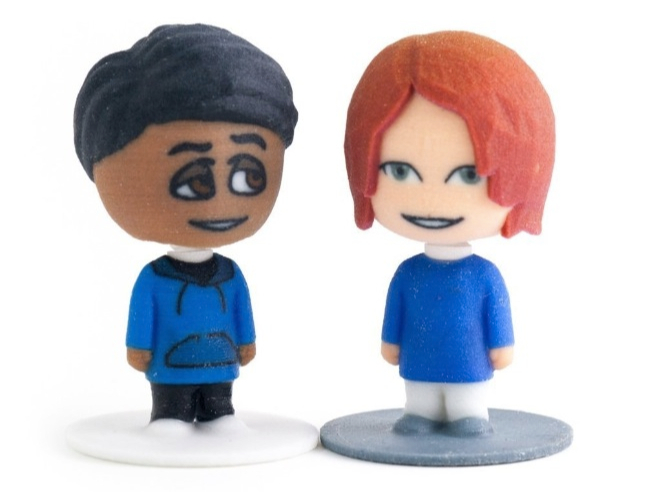 create your personalized 3d printed bobble head with mixee bobbler ...
