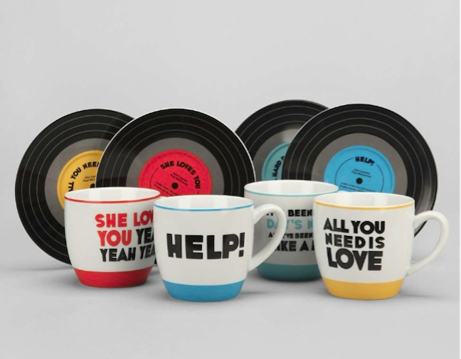 The Beatles Mug Set