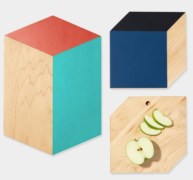3-D Shape Cutting Boards