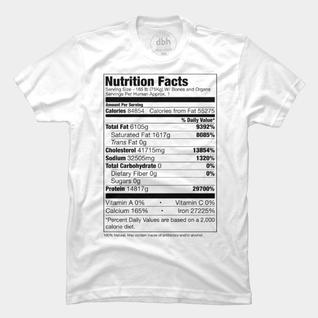 Human Nutrition Facts Tee