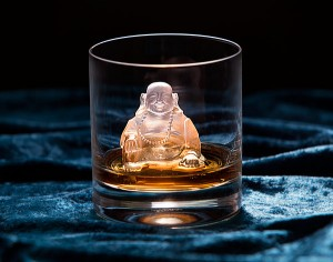 Laughing Buddha Ice Mold_