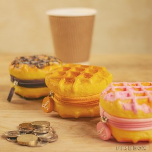 Scented Belgain Waffle Coin Purse