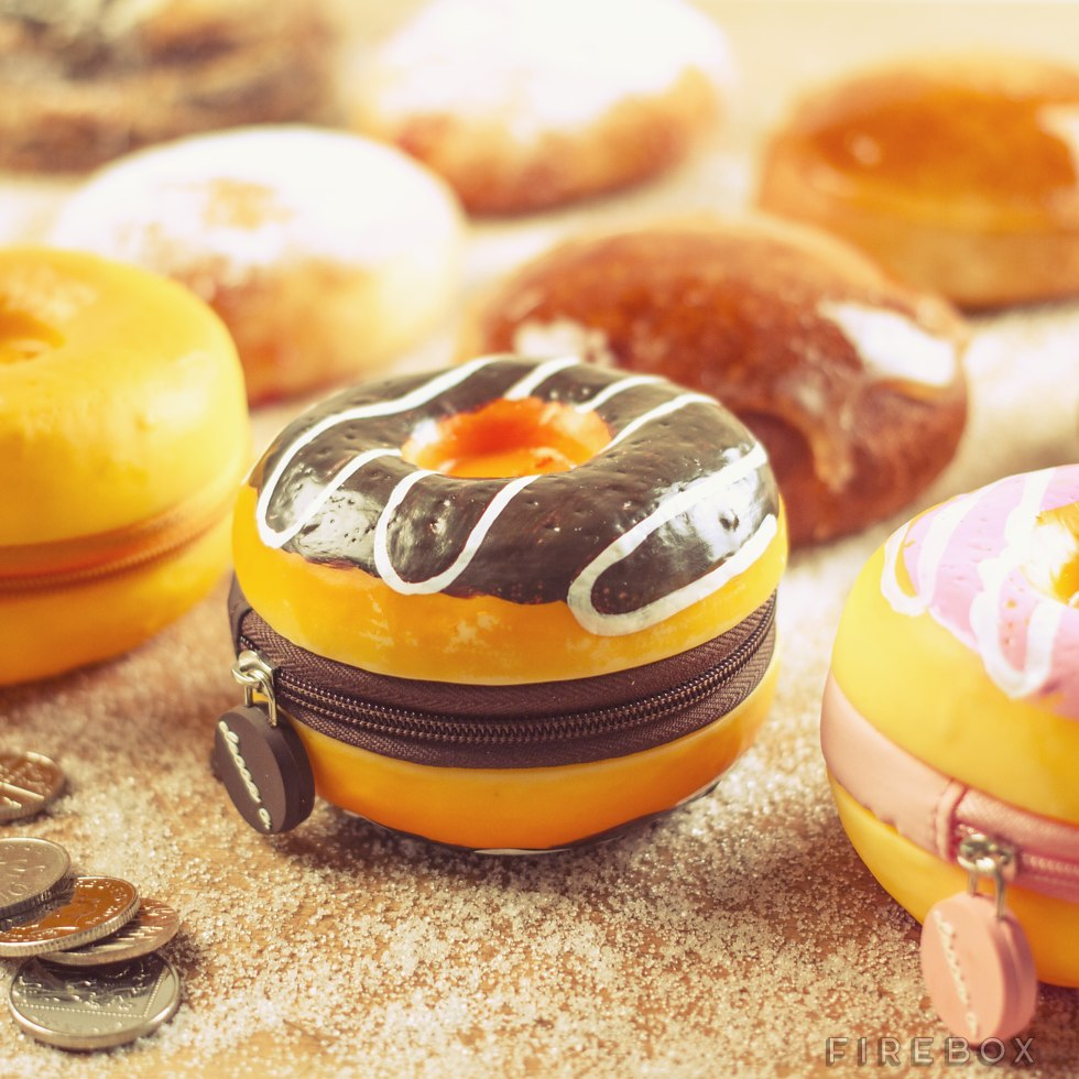 Scented Donut Purse