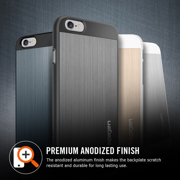 Spigen Aluminum Fit Case for iPhone 6