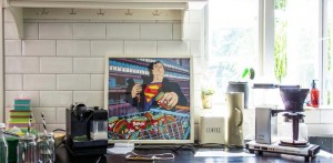 Superman Shopping Print