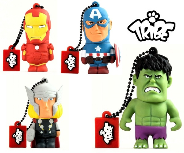 Tribe Avengers USB Flash Drives