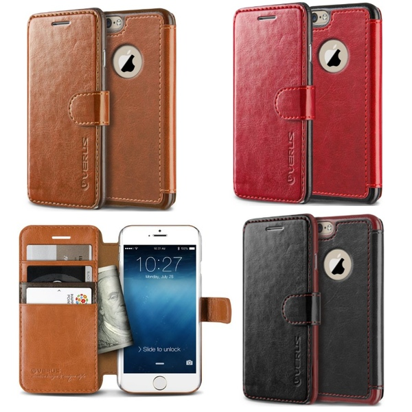 Versus Leather Wallet Case for iPhone 6