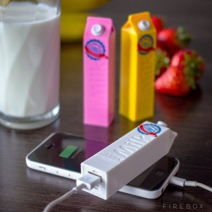 Long Life Milk Portable Charger
