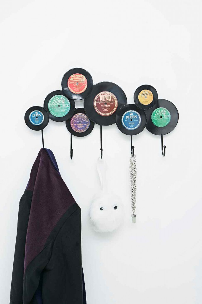 Records Coat Hook