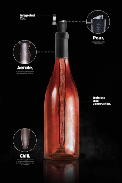 Corkcicle One Wine Chiller and Aerator