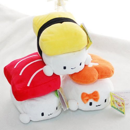 Cute Plush Pillow Cushion Doll x3 SET