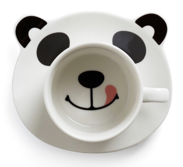 Panda Smile on Your Face Mug Set_