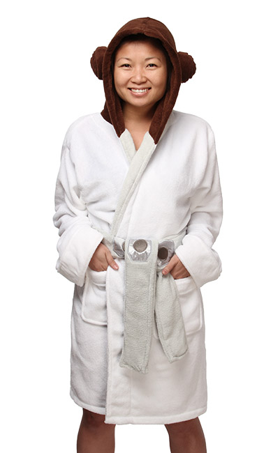 Princess Leia Ladies' Fleece Robe